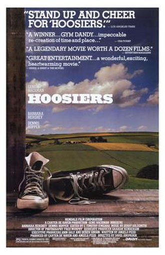 Hoosiers (film) - Theatrical release poster