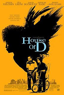 <i>House of D</i> 2004 film by David Duchovny