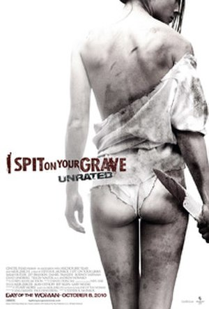 I Spit on Your Grave (2010 film) - Theatrical release poster