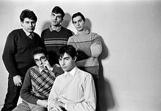 Idoli new wave band from Belgrade