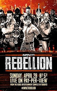 Rebellion (2019) 2019 Impact Wrestling pay-per-view event