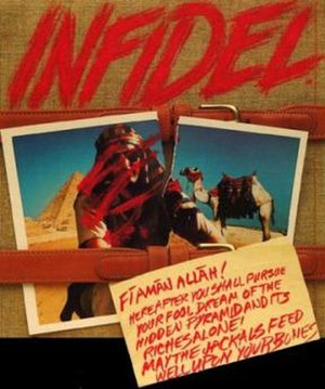 Infidel (video game) - Cover art