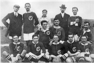 U.S. Internazionale Napoli - The club at the time of founding in 1912.
