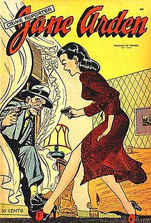 <i>Jane Arden</i> (comics) comic strip which ran from 1927 to 1968
