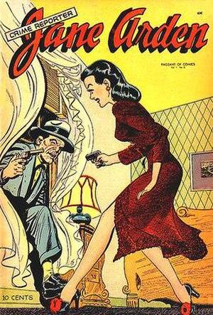Jane Arden (comics) - Image: Janecrime 1
