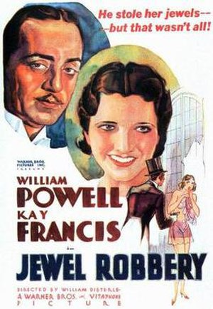 Jewel Robbery - Theatrical Film Poster