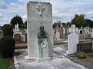 John McCormack (tenor) - The grave of John McCormack in Deans Grange Cemetery