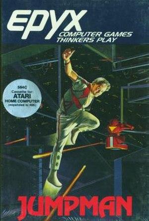 Jumpman (video game) - Image: Jumpman box cover