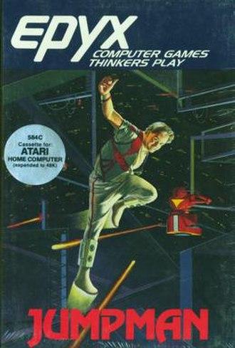 Jumpman (video game) - Original cover art
