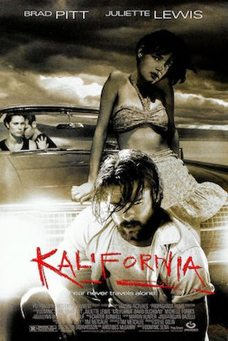 Kalifornia - Theatrical release poster
