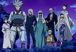 List Of Kekkaishi Characters