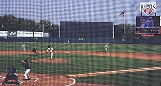 Cedar Rapids Kernels - Casey Kotchman bats against the Clinton LumberKings, September 1, 2002