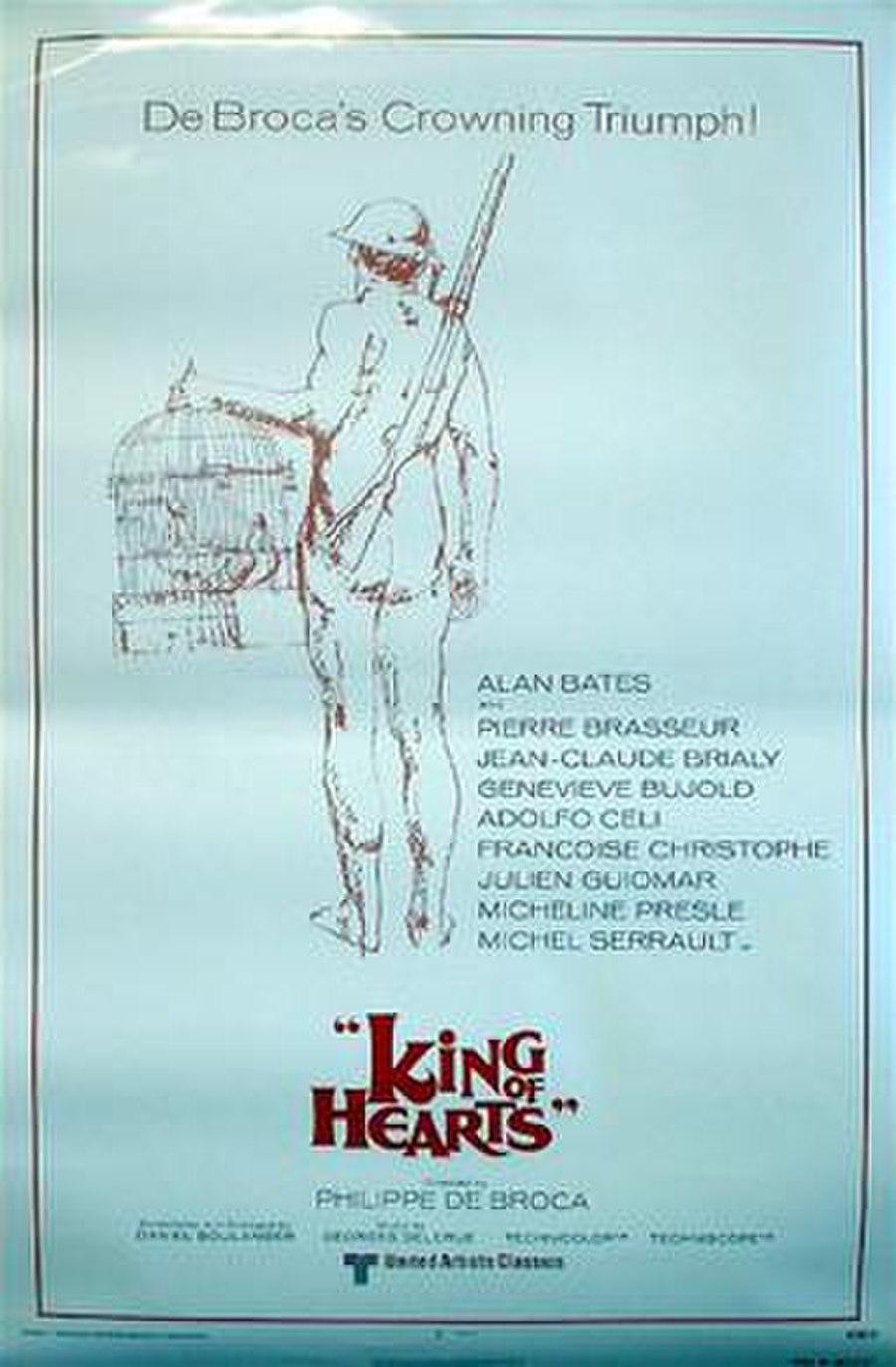 Le Roi de cœur (original French title) King of Hearts