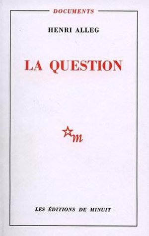 La Question - Image: La question alleg