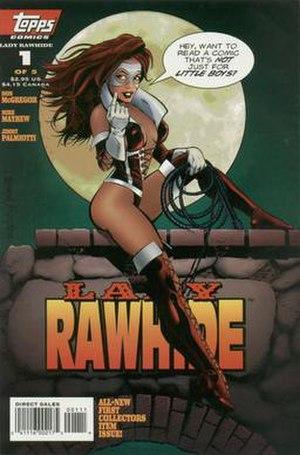 Topps Comics - Image: Lady Rawhide v 1n 1