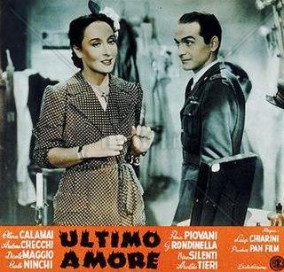 <i>Last Love</i> (1947 film) 1947 Italian film directed by Luigi Chiarini