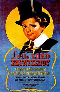 <i>Little Lord Fauntleroy</i> (1936 film) 1936 film by John Cromwell
