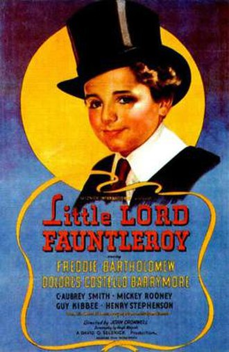 Little Lord Fauntleroy (1936 film) - Image: Little Lord Fauntleroy Poster