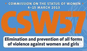 Logo - UN Commission on the Status of Women 57th meeting 4 - 15 Mar 2013.jpg
