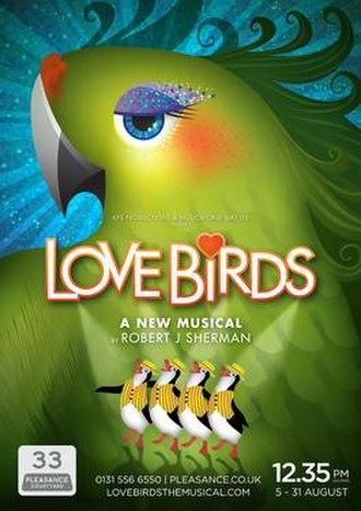 Love Birds (musical) - Edinburgh poster