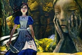 Alice: Madness Returns - Alice as seen in Madness Returns, wielding the Vorpal Blade.