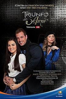 <i>Triunfo del amor</i> television series