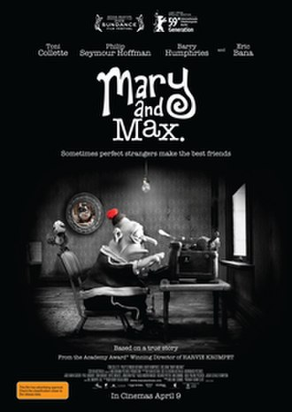 Mary and Max - Australian theatrical release poster