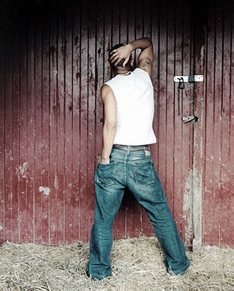 Mikey Bustos - Mikey Bustos posing in a random photo shoot