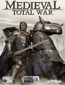 The box art for Medieval: Total War