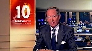 BBC News at Ten - Michael Buerk presenting in 2000