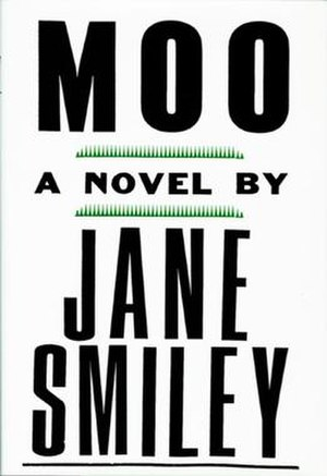 Moo (novel) - First edition cover