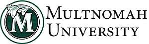 Multnomah University - Image: Multnomahuniversityl ogo
