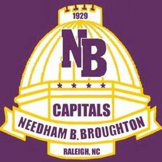 Needham B. Broughton High School - Image: Needham B. Broughton High School logo