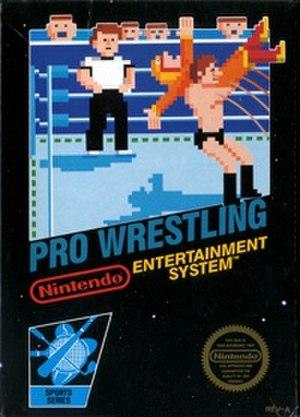 Pro Wrestling (NES video game) - The boxart for Pro Wrestling