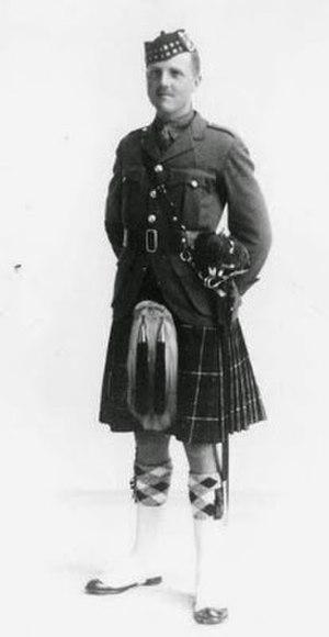 Norman Baillie-Stewart - Baillie-Stewart in the uniform of the Seaforth Highlanders (1929-1933)