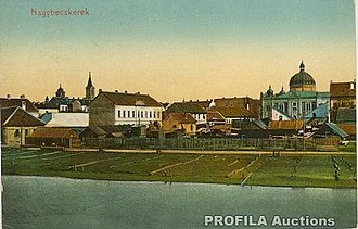 Zrenjanin - Old postcard of Zrenjanin