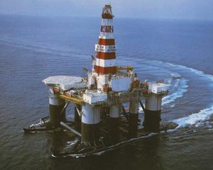 Odyssey (launch platform) - Ocean Odyssey in her original drilling rig configuration