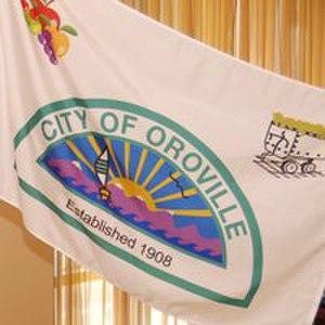 Oroville, Washington - Image: Oroville, WA flag