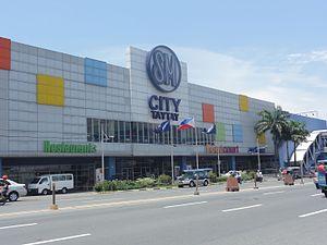 SM City Taytay - Main Facade