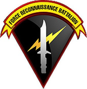 Force Reconnaissance Battalion (Philippines) - Official patch of the PMC Force Recon Bn