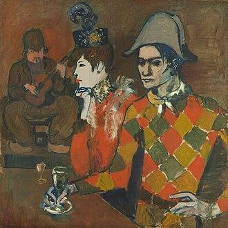 Au Lapin Agile - Image: Pablo Picasso, 1905, Au Lapin Agile (At the Lapin Agile), oil on canvas, 99.1 x 100.3 cm, Metropolitan Museum of Art