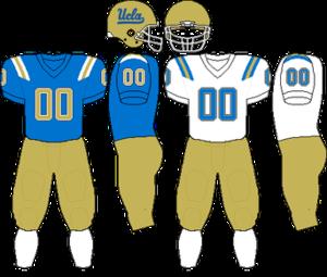 2006 UCLA Bruins football team - Image: Pac 10 Uniform UCLA 2006 2008