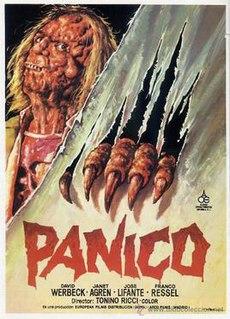 <i>Panic</i> (1982 film) 1982 Italian / Spanish film directed by Tonino Ricci