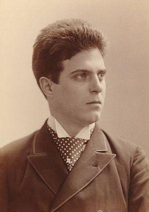Pietro Mascagni - Mascagni in c. 1890