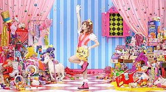 "Pon Pon Pon - Kawaisa and Decora culture are prevalent in the ""PonPonPon"" video."