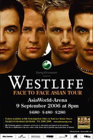 Face to Face Tour - Promotional poster for tour