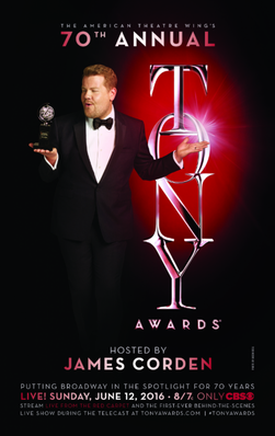Poster for the 70th Tony Awards