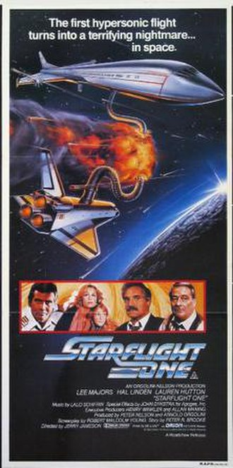 Starflight: The Plane That Couldn't Land - Theatrical poster