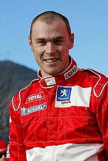 Richard Burns British racing driver