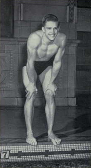 Bob Sohl - Sohl at the University of Michigan in 1949.